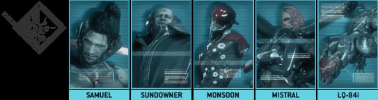 Los miembros de Desperado Enforcement