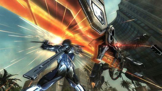 Raiden vs Metal Gear Ray