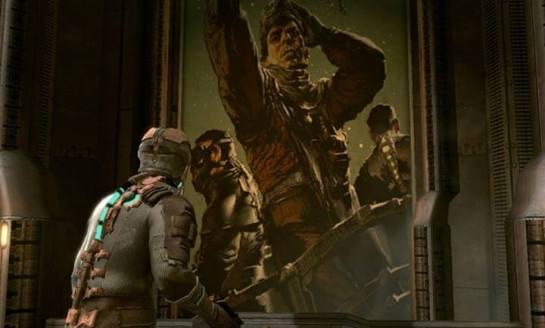 Los Colonizadores antes de volverse locos en Dead Space!
